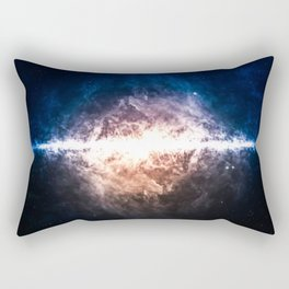 Star Field in Deep Space Rectangular Pillow