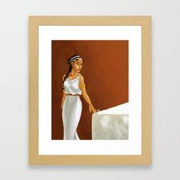 Vita Framed Art Print