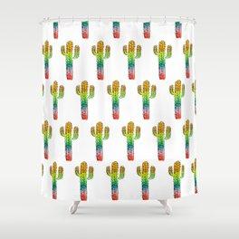 Desert Rainbow II PRIDE PATTERN Shower Curtain
