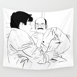 There's a new daddy in town Wall Tapestry