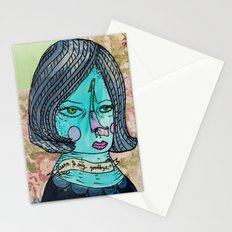 Learn to say goodbye Stationery Cards