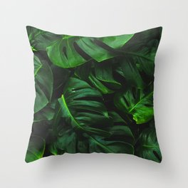 Green Design Throw Pillow