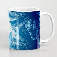 palms Mugs featuring Palms by Tat Georgieva