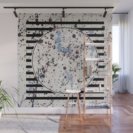 Attraction - circle graphic Wall Mural