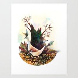 Jemima Puddleduck Art Print