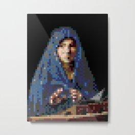 4kpx-virgin-annunciate.gif Metal Print