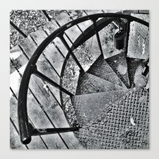 Spiral Staircase I Canvas Print