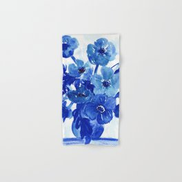 blue stillife Hand & Bath Towel