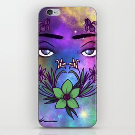 Through the Eyes of the Goddess iPhone Skin