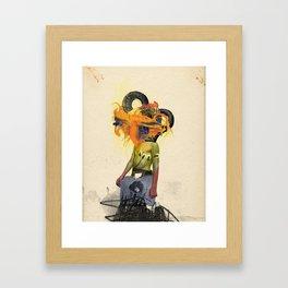 Mingadigm | See Me Framed Art Print
