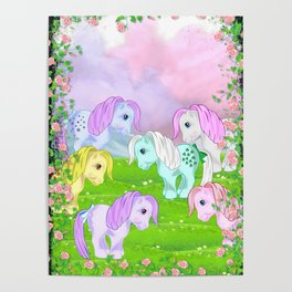 g1 my little pony collector ponies Poster