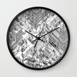 MacPaint project: NYC Wall Clock
