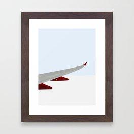 OVER SKYERNE Framed Art Print