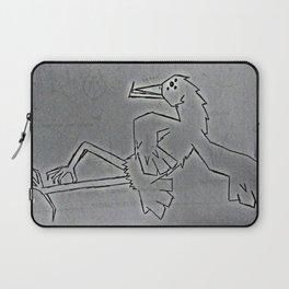 bird dancing Laptop Sleeve