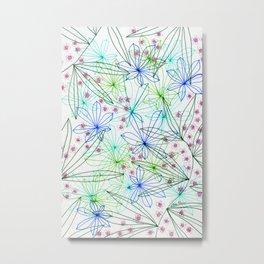 Floral summer Metal Print
