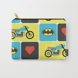 The Bike & The Bat Carry-All Pouch