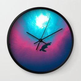Space Wave Wall Clock