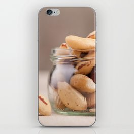 Brazil nuts from Bertholletia excelsa iPhone Skin