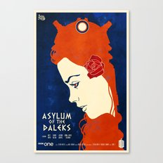 Asylum of the Daleks Canvas Print
