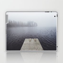 Fading into the mist Laptop & iPad Skin