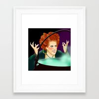 hocus pocus Framed Art Prints featuring Hocus Pocus by Fransisqo82