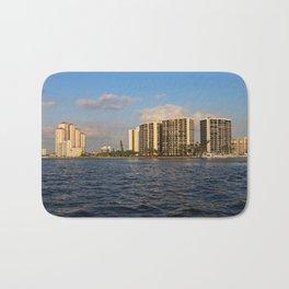 Shoreline in Fort Myers III Bath Mat