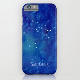 Constellation Sagittarius  iPhone Case