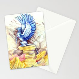 Desert Gryphon Stationery Cards