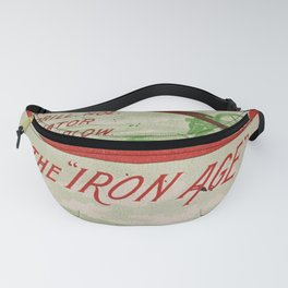 Seed Catalog Garden Floral Fruit Plow Tool Fanny Pack