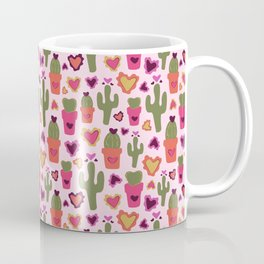 A Cactus for Valentines Coffee Mug