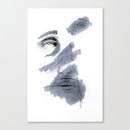 Parting Illustration Canvas Print