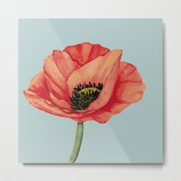 A Poppy For You Metal Print