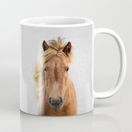 Wild Horse - Colorful Coffee Mug