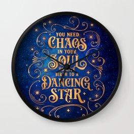 Dancing Star Wall Clock