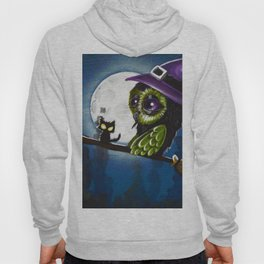 owl witch Hoody