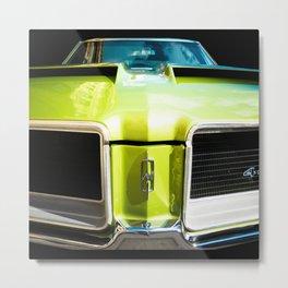 Green Machine (Center Version) Metal Print