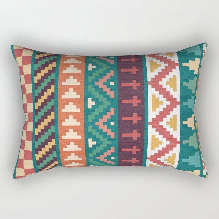 Southwestern Pattern Rectangular Pillow