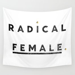 Radical Female Wall Tapestry