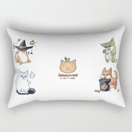 Shibb#07 - Shiballoween Rectangular Pillow