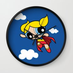 The Day Is Saved Wall Clock