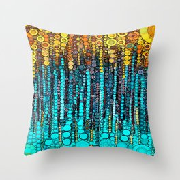 :: Party On :: Throw Pillow