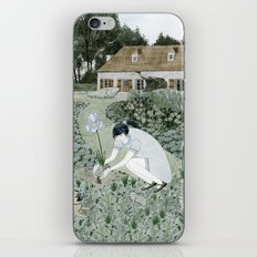 Planting Irises iPhone & iPod Skin
