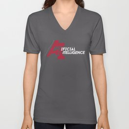 AI - Artificial Intelligence Unisex V-Neck