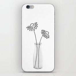 Flower Still Life II iPhone Skin