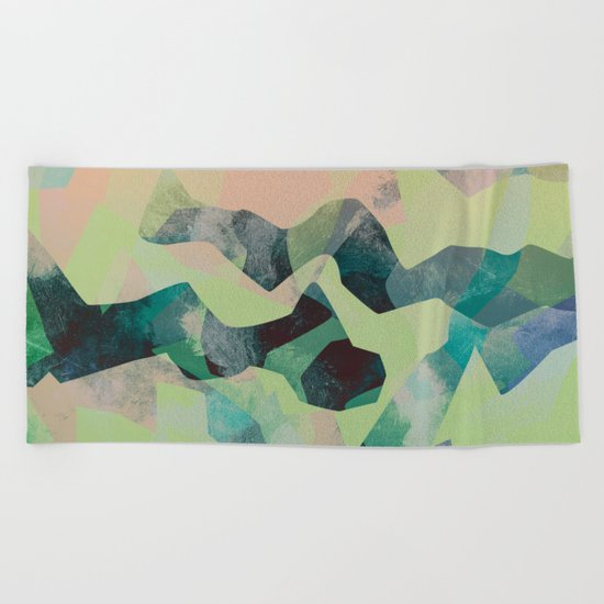 Camouflage X Beach Towel