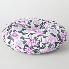 Rose Delight Floor Pillow