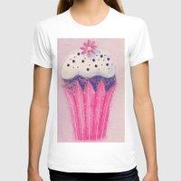 cupcake T-shirts featuring Cupcake by Irène Sneddon