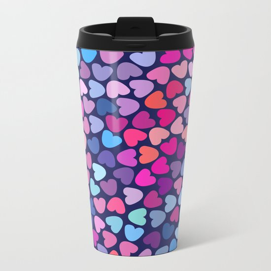 Love Love Love ..... Metal Travel Mug