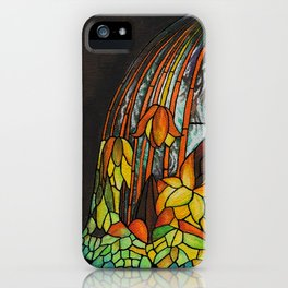 Dropping Flower Lamp iPhone Case