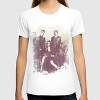 vampire diaries T-shirts featuring The Vampire Diaries TV Series by Nechifor Ionut